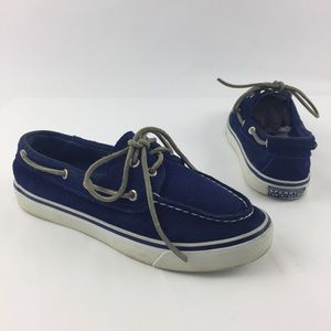 Sperry Top Sider Bahama Leather Slip On Boat Shoes